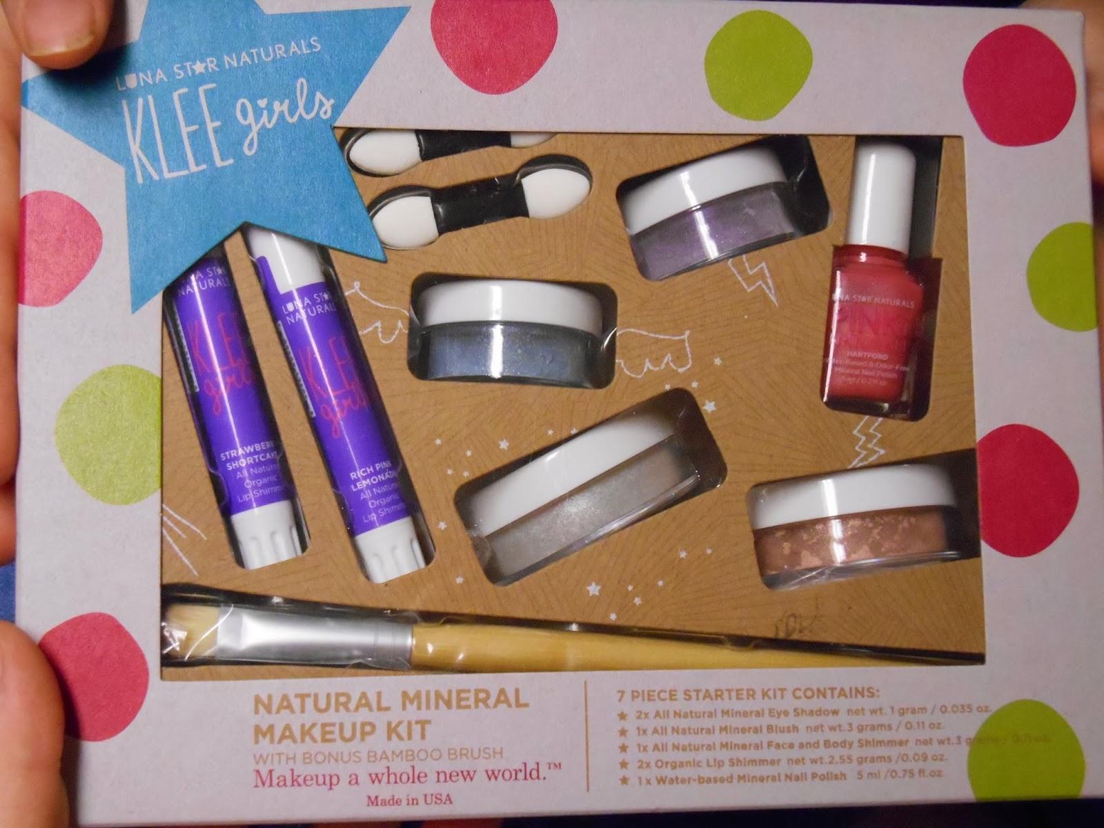 Hope's Cafe: Klee Girls-Natural & Safe Makeup for Girls!