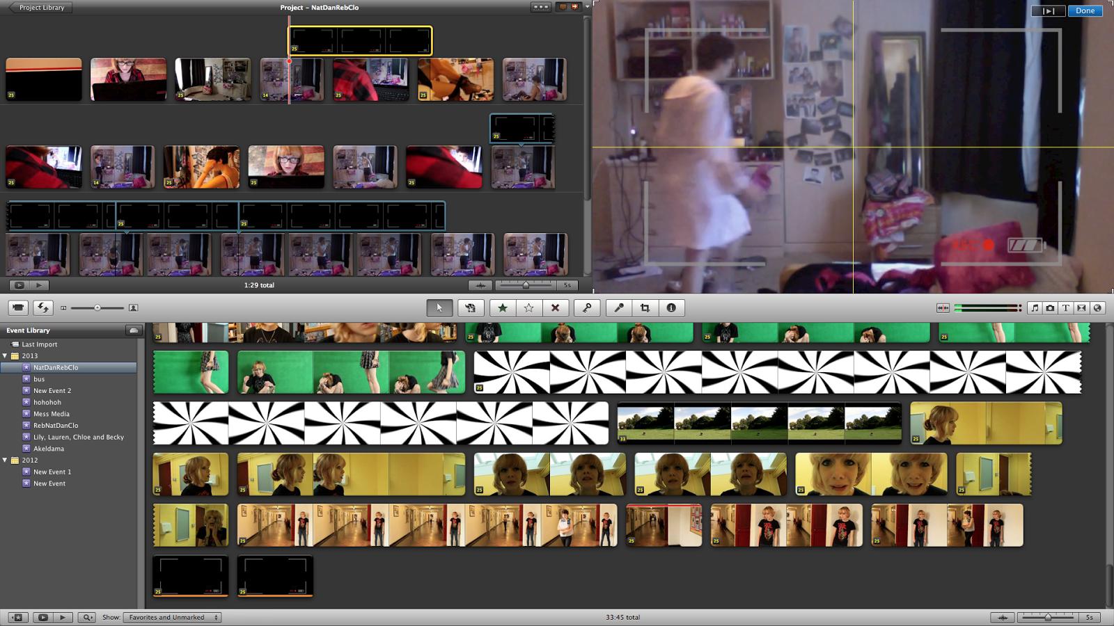 NatDanRebClo : Webcam Overlay photoshop
