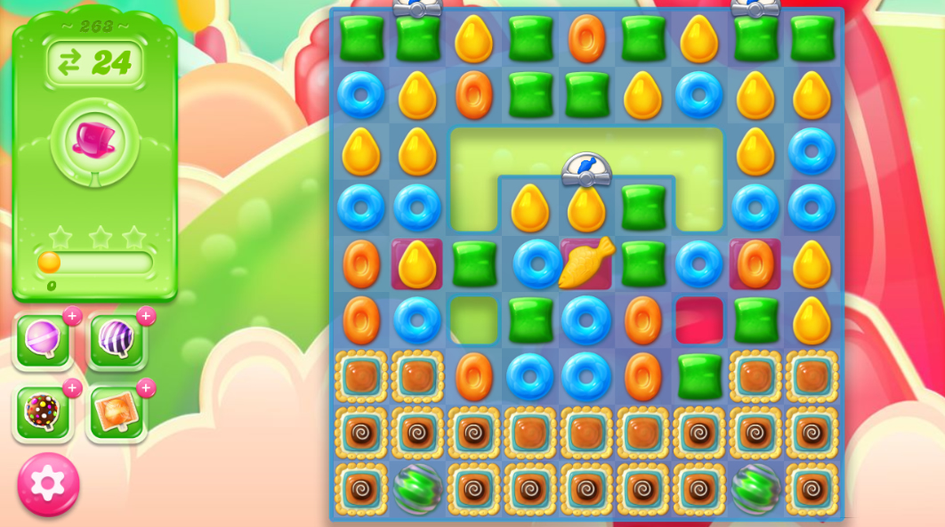 Candy Crush Jelly Saga 263
