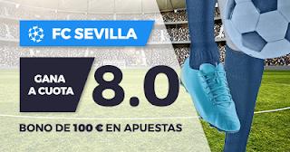 Paston Megacuota Champions League: Sevilla vs Maribor 26 septiembre