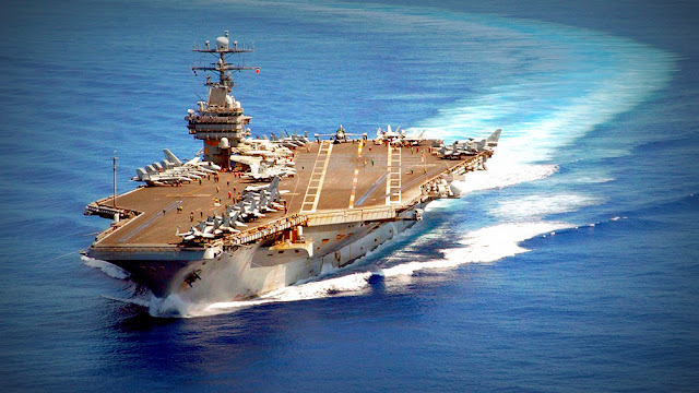 Corea del Norte amenaza con hundir portaaviones estadounidense de un solo golpe