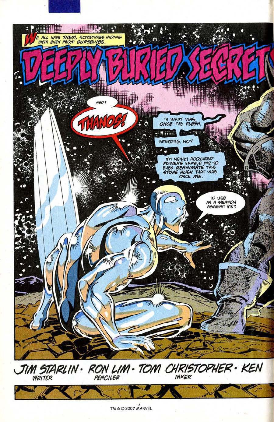 Read online Silver Surfer (1987) comic -  Issue #50 - 6