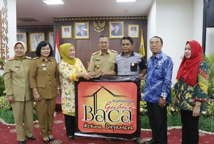 Sekdaprov Lampung : Ayo Kita Tingkatkan Minat Membaca.