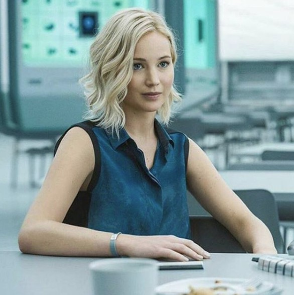 Jennifer Lawrence con corte Long Bob