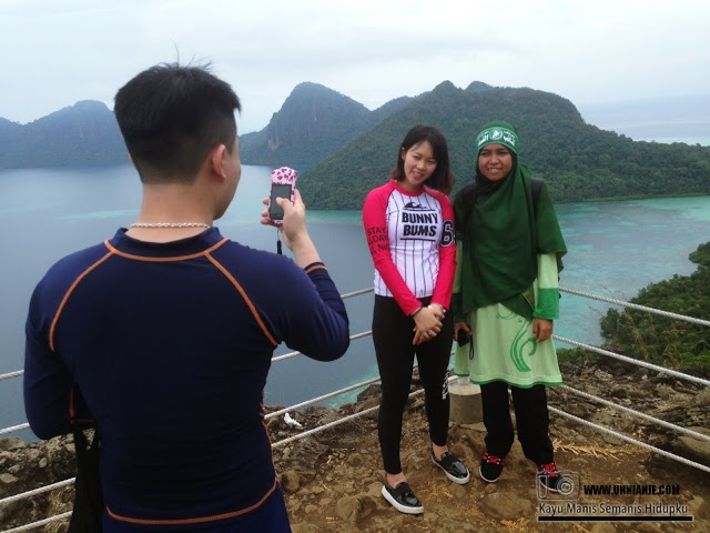 Puncak Pulau Bohey Dulang