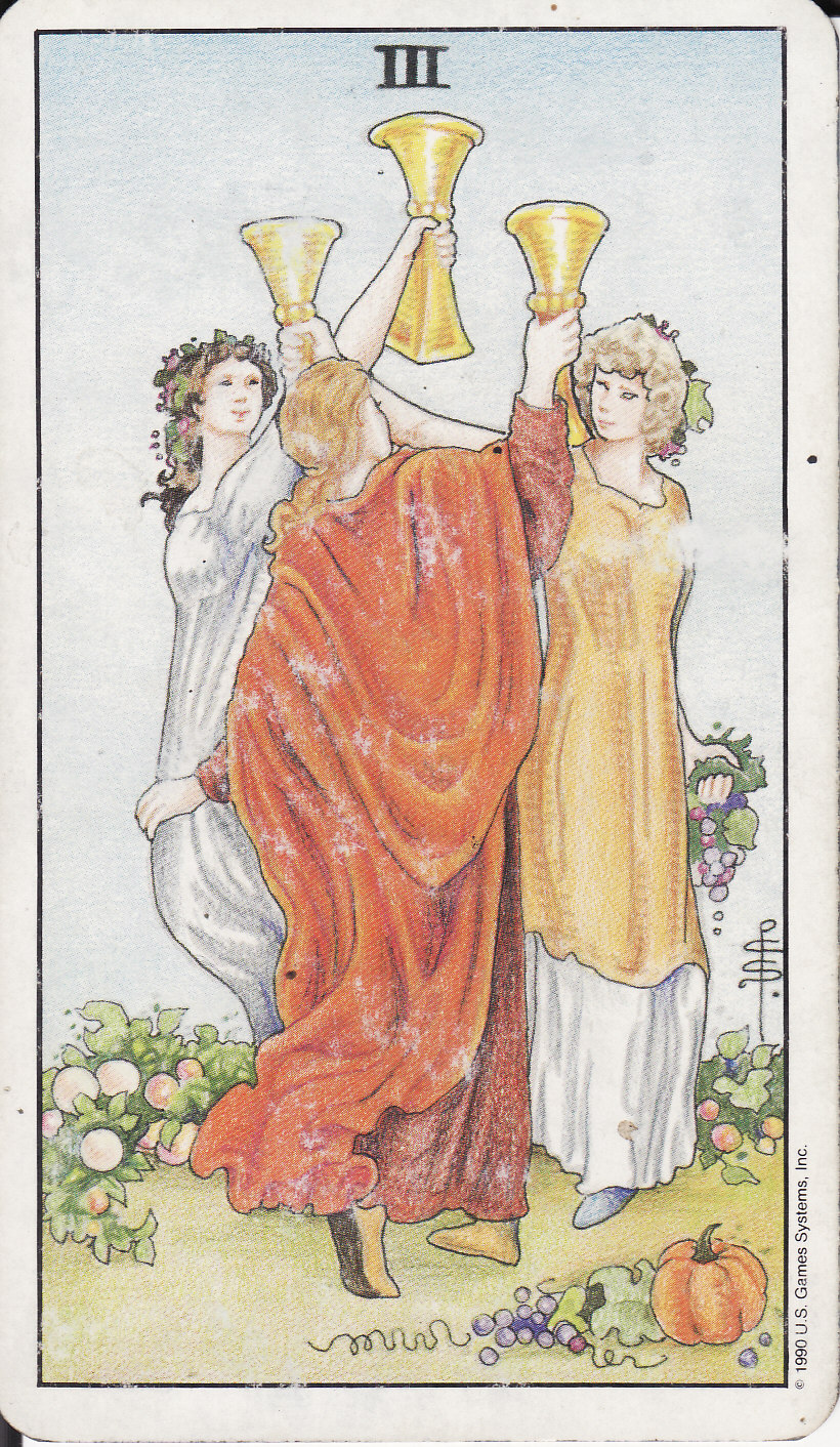 TAROT - The Royal Road: 3 THREE OF CUPS III