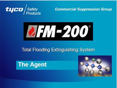 TYCO FM-200 Total Flooding Extinguishing System