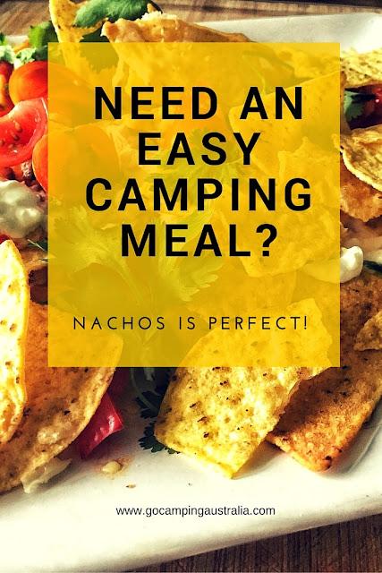 nachos campfire food recipe