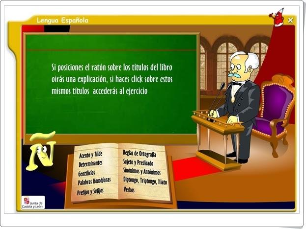 """""""Lengua Española"""" (Aplicación interactiva de Lengua Española de Secundaria)"""