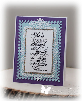 Diana Nguyen, Verve, Proverbs 31, card, Scripture, Our Daily Bread Designs