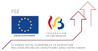 Fonds Social Européen et Fédération Wallonie Bruxelles