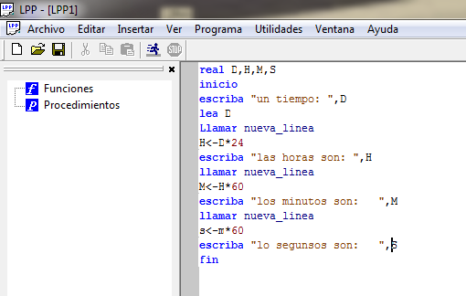 lpp programacion