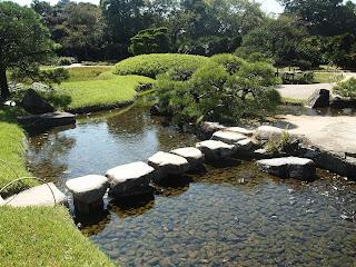 Unique Japan Tours Kenrokuen Garden Stepping Stones