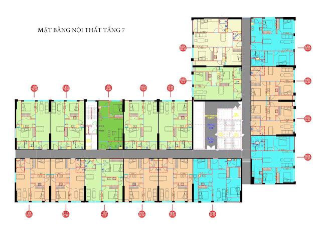 Mặt bằng chi tiết căn hộ tòa CT4 tôi mua