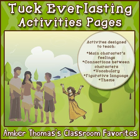 http://www.shutthedoorandteach.com/2014/09/tuck-everlasting-unit-resources.html