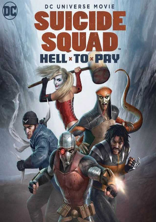 Suicide Squad: Hell to Pay 2018 English Movie Download 720p BRRip