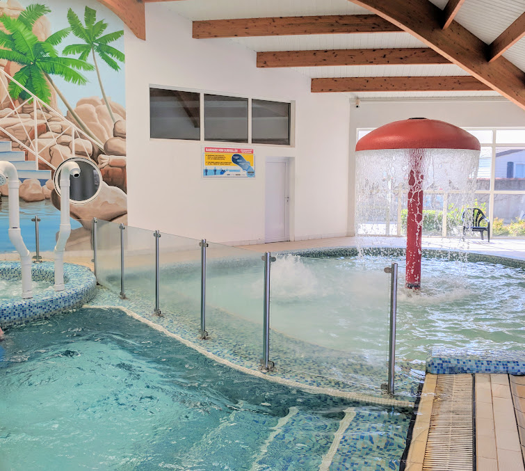 Les Ecureuils Campsite, Vendee - A Eurocamp Site near Puy du Fou (Full Review) - indoor swimming pool