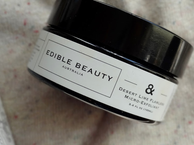 Edible Beauty No.1 Belle Frais Cleansing Milk and the Desert Lime Flawless Micro-Exfoliant