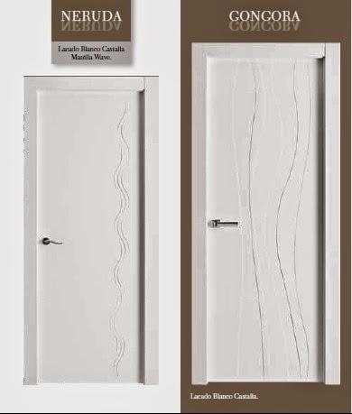 Made of wood puertas lacadas blanco modernas veamos los - Precios de puertas lacadas en blanco ...