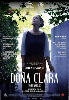Cartel oficial español: Doña Clara (Aquarius) (2016)