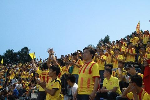 Đội bóng Thành Nam với lợi thế sân nhà