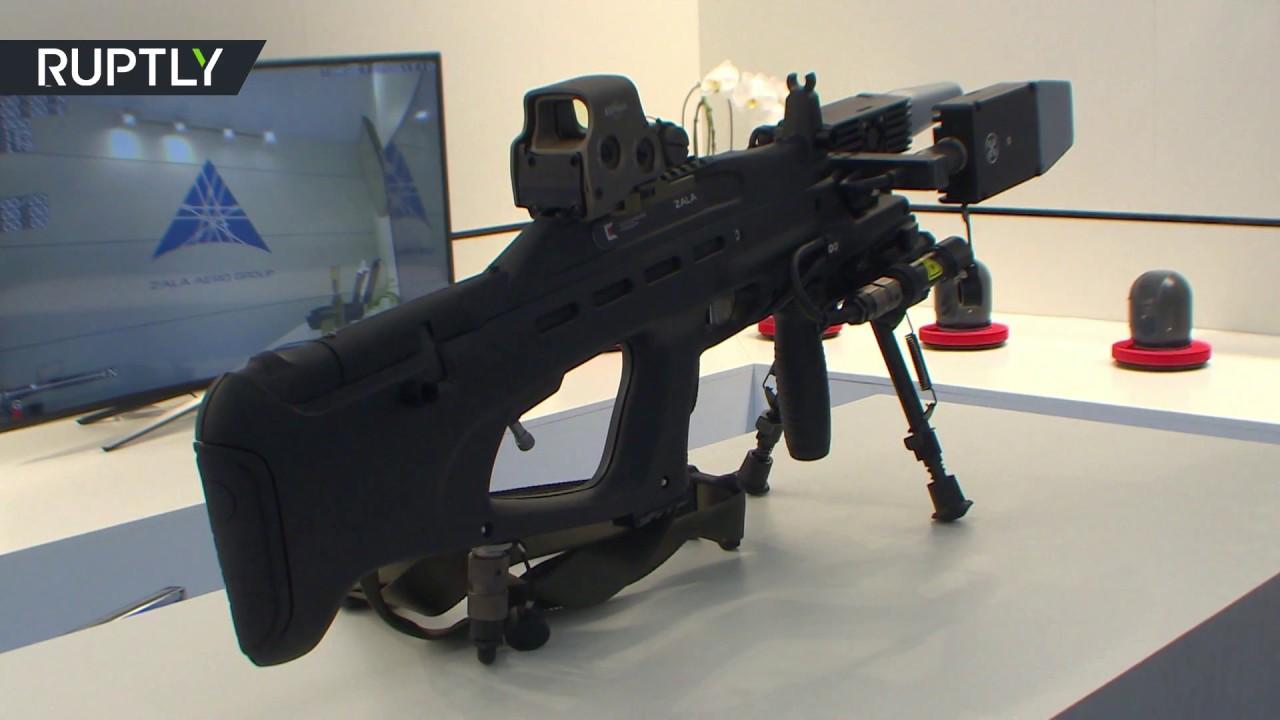 86cbfe0d551 Αυτό είναι το REX-1 το νέο anti-drone όπλο της Kalashnikov! (βίντεο ...