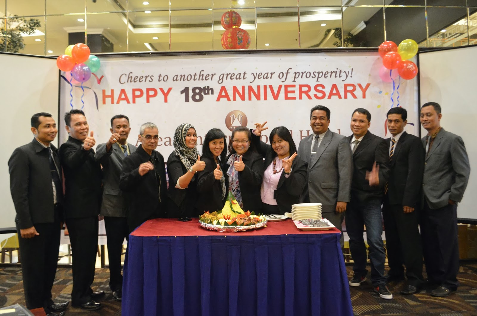 18 Tahun Asean International Hotel Medan