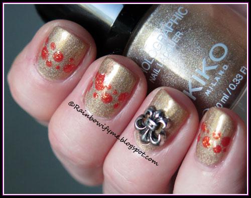 Kiko Holographic ~ 02 Golden Champagne