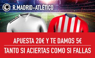 sportium Promo Real Madrid vs Atletico 29 septiembre