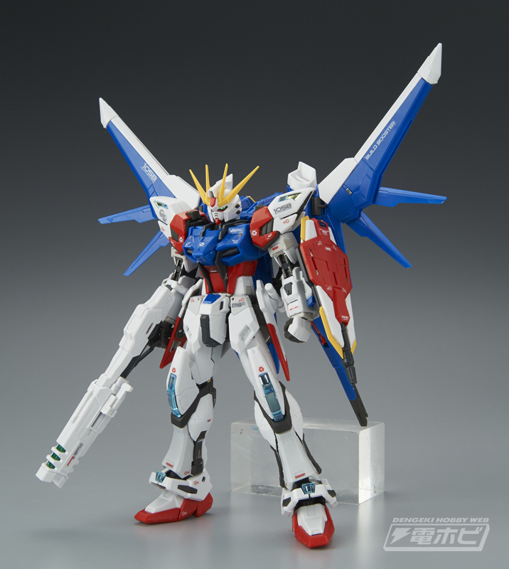 RG #23 1/144 Build Strike Gundam Full Package Sample Images by Dengeki Hobby