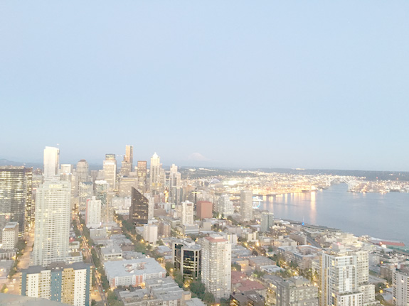 Things to do in Seattle - Space needle at twilight