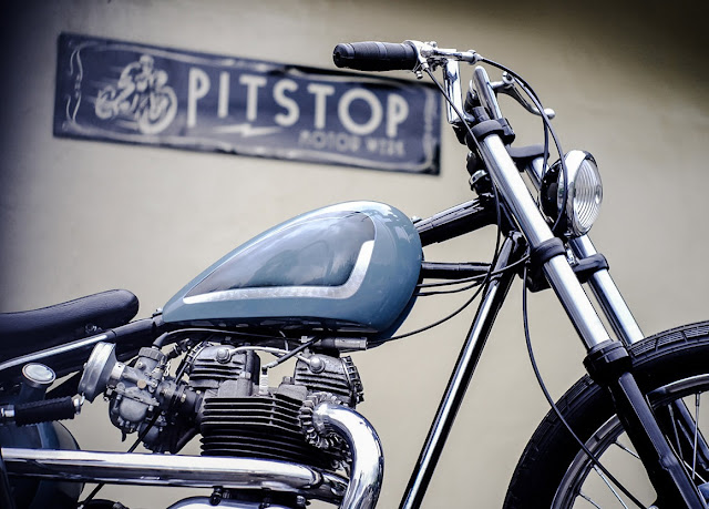 Triumph Bonneville T120 By Pitstop Motor Werk Hell Kustom
