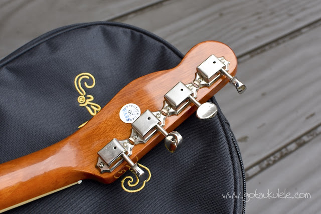 Fender Montecito Ukulele tuners