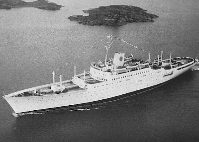 Sleek Swedish America Liner - Stockholm