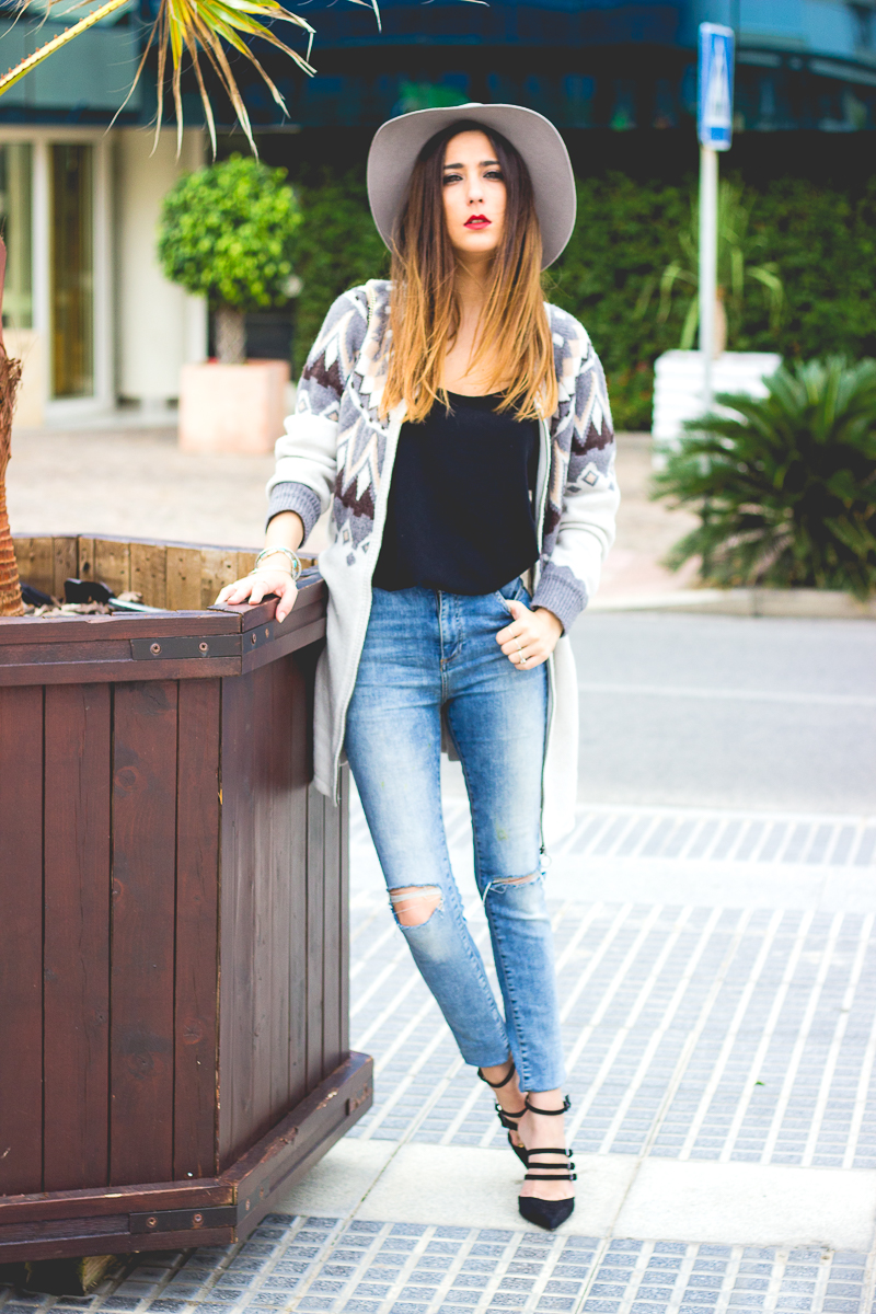 look casual en jeans