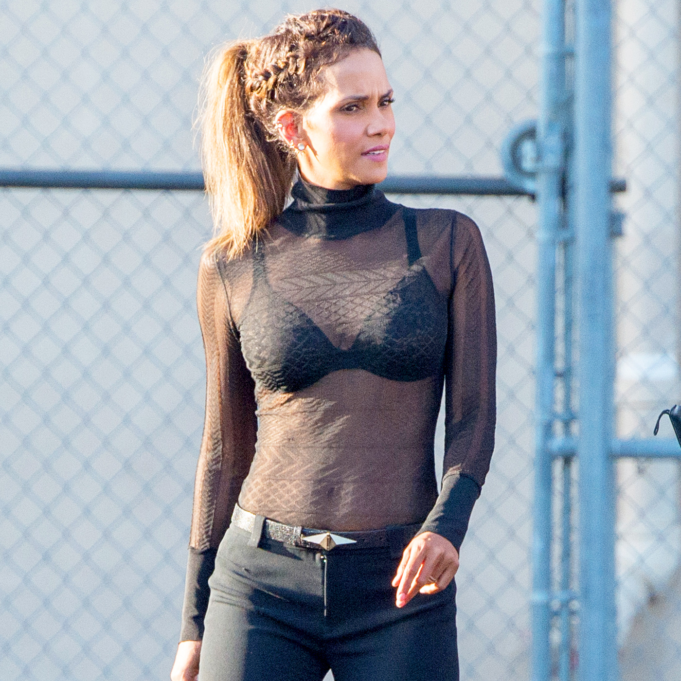 Halle berry see through new images