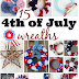 Fourth of July Wreaths for your Front Door