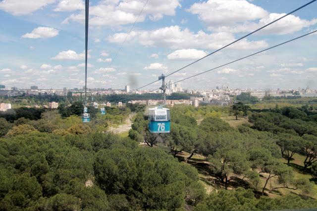 Teleferico Madridissa - parhaat näköalapaikat