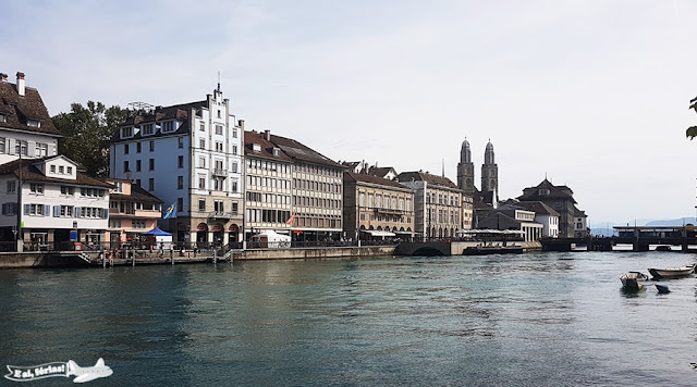 Rio Limmat, Zurique, Suíça