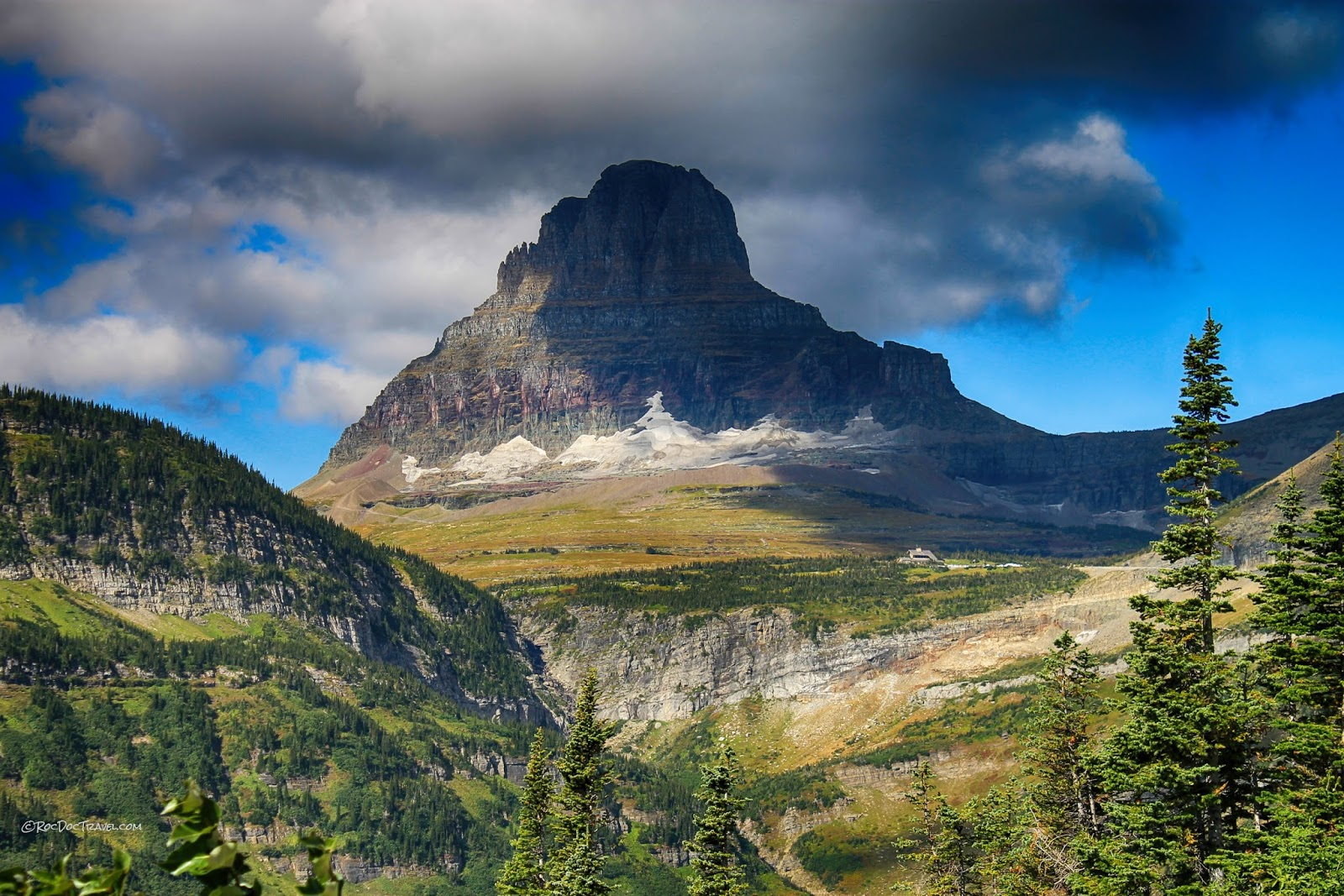 Glacier National Park Montana geology travel field trip tour copyright rocdoctravel.com