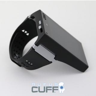 Rufus Cuff est une sorte de mini tablette qui se porte au poignet