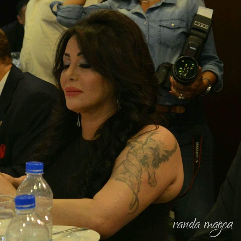 """ليلى غفران تتألق في مهرجان """"ملكة جمال العرب"""""""