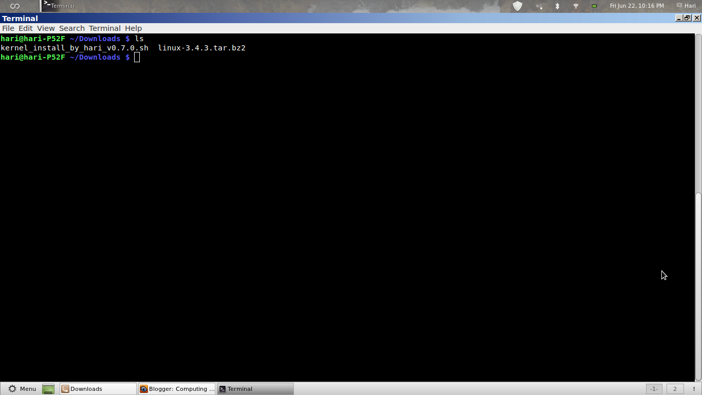 Auto Kernel Compile and Install Script v0 7 for Linux