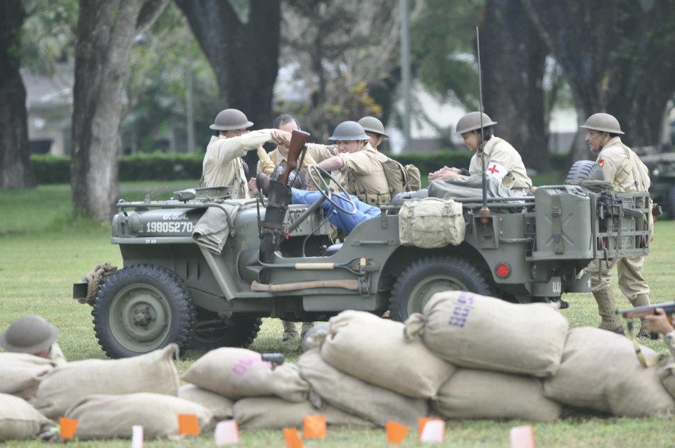 MD Juan Holds World War II Re-Enactment | Philippine Car