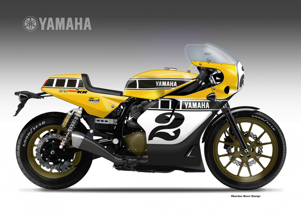 motosketches yamaha xv 950 kr yard built. Black Bedroom Furniture Sets. Home Design Ideas
