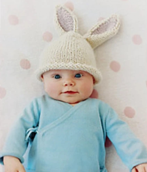 Bunny Beanie - Free Pattern