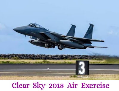 On 9th October 2018, Ukraine along with United States launched large scale air exercise with NATO countries known as Clear Sky 2018 in western Ukraine.