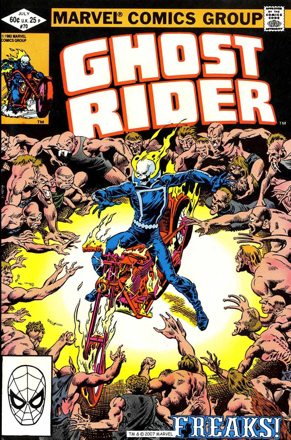 Ghost Rider (1973) issue 70 - Page 1