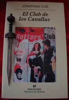 Portada del libro El club de los canallas, de Jonathan Coe
