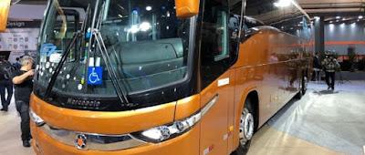 Número de emplacamentos de ônibus tem alta de 18,48% no acumulado do ano